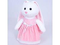 Детская мягкая игрушка белая зайка