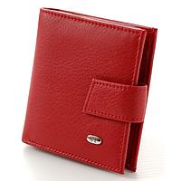 Женский кожаный кошелек компактный ST 430 Red