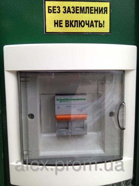 автомат общей подачи напряжения на сепаратор