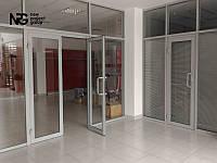 Алюминиевые двери изготовление и монтаж