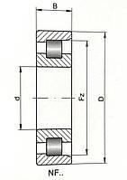 Подшипник 12309KM (NF 309)
