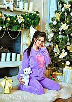 Махровая пижама Мишка