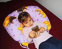 Подушки для кормления с завязками - детская расцветка (холофайбер)