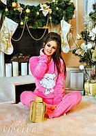 Теплая пижама женская