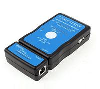 RJ45 RJ11 тестер витой пары кабельный USB LAN tester