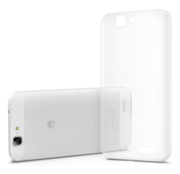 Силиконовый чехол-бампер для Huawei Ascend G7 (C199)