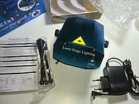 Лазерный проектор 6 в 1 Mini Stage Laser (светомузыка, стробоскоп)