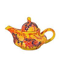 Чайник керамический расписной ручная работа