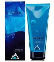 Гель для душа, для волос и тела,Vivacool / Вива Кул 200 мл, для мужчин