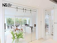 Стеклянные двери раздвижные цена