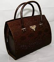 Женская сумка/саквояж Prada (КАШТАН), 05817, фото 1