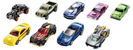 Подарочный набор Хот Вилс 9 машинок Оригинал Hot Wheels Giftcard 9 cars в ассортименте, фото 2