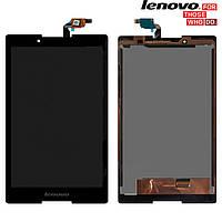 Дисплейный модуль (дисплей + сенсор) для Lenovo Tab 2 A8-50LC, черный, оригинал