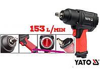 Ударный пневматический гайковерт YATO 1/2 YT- 09540 1150 Nm S