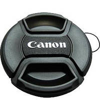 Крышка для объектива Canon 58mm (с шнурком)