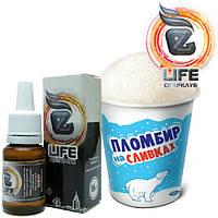 Жидкость для электронных сигарет eLife Пломбир