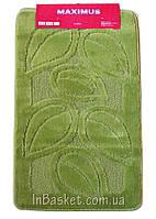 """Комплект ковриков для ванной """"Green life"""""""