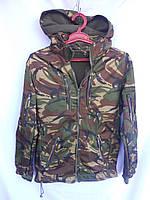 Куртка камуфлированная на флисе Британия