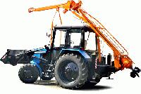 Гидрораспределитель на бурильную машину (ямобур)  БМ-205Д (БМ-205В) (гидравлический распределитель)