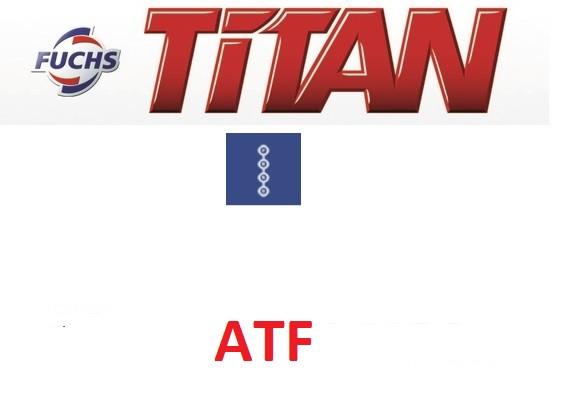 Жидкость для автоматических трансмиссий ATF Fuchs Titan