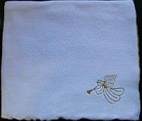 Рушник с золотой вышивкой Ангел