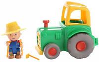 Игровой набор Каю и трактор Cаillou 400-CA-018