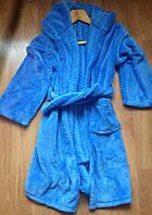 Детский махровый халат (Запах пояс), фото 1