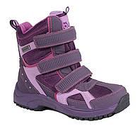 Непромокаемые детские зимние ботинки Bugga Waterproof для девочки (р.28-36)