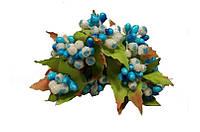 Тычинка искусственная  голубая 10791 1-2-1