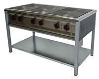 Плита промышленная электрическая без духовки Арм-Эко ПЕ-6 эконом