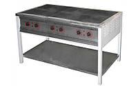 Плита промышленная электрическая без духовки Арм-Эко ПЕ-6 Н эконом