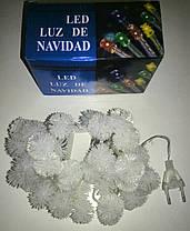 Гирлянда светодиодная снежинки (LED) 40 л, фото 3
