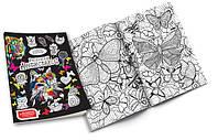 Набор для творчества Раскраска Антистресс с фломастерами RA-01-01