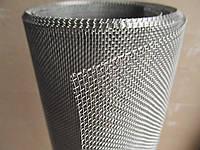 Сетка тканая из нержавеющей проволоки. Ячейка: 1,6мм, Проволока: 0,4мм, Ширина 1м., фото 1