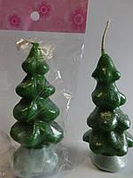 Свечи декоративные Елочка 10*4 см