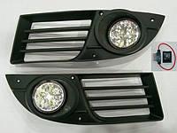 Противотуманные фары Fiat Doblo 2006-2010 (комплект - 2шт) LED