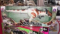 Динозавр игрушка, ходит музыкальный