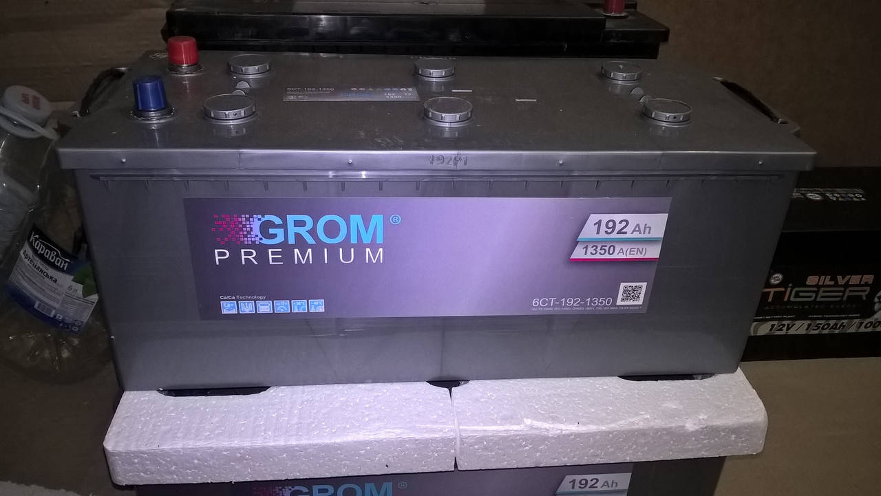 Акумулятор GROM Premium 192Ah 1350A[EN] (+/-), фото 2