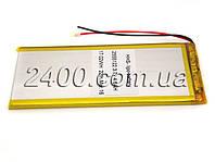 Аккумулятор 3000мАч 3*55*122 мм 3,7в универсальный для планшета, GPS навигатора 3000mAh 3.7v 3055122