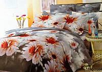 Полуторный комплект постельного белья Скарлет