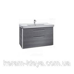 Шкафчик с умывальником Roca Dama Unik 850 серый антрацит A851048153