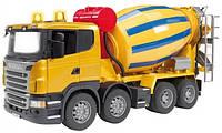 Игрушка Bruder Бетоновоз Scania R-series М1:16 желтый (03554)