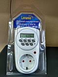 Электронный таймер-розетка Lemanso LM676, фото 2