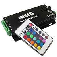 RGB контроллер 18 А музыкальный