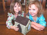 Детские домики из текстиля
