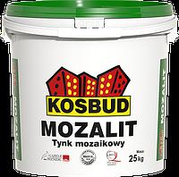 """Мозаичная штукатурка MOZALIT """"мелкозерновой""""  в цвете КОСБУД (KOSBUD) 25кг"""