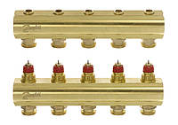 Коллектор теплого пола Danfoss FHF-5 (088U0505)