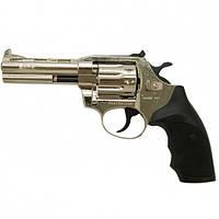 Револьвер под патрон Флобера  Alfa 441 (никель/пластик), фото 1