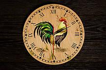 Настенные часы ручной работы  Петух
