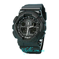 Часы Casio G-Shock GA-100 Black AAA